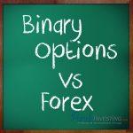 مقارنة تجارة الخيارات الثنائية بتجارة الفوركس